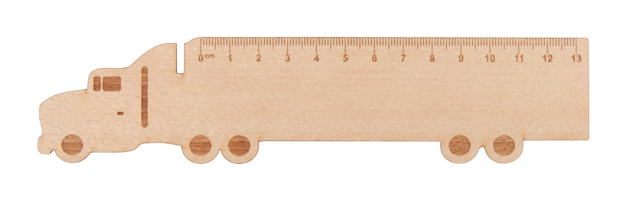 Looney wooden ruler