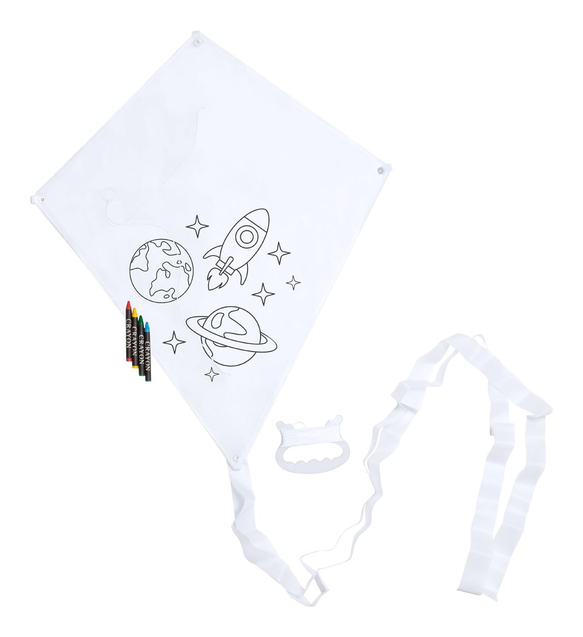 Yumbi colouring kite