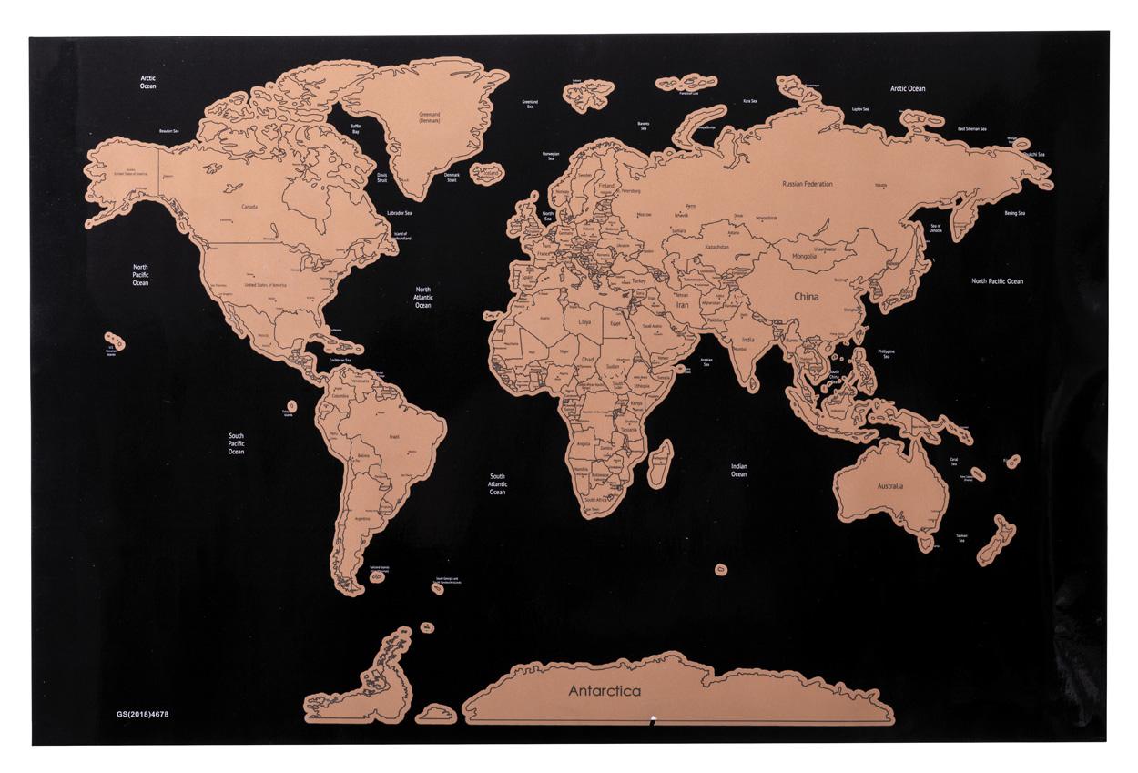 Palsy scartch map