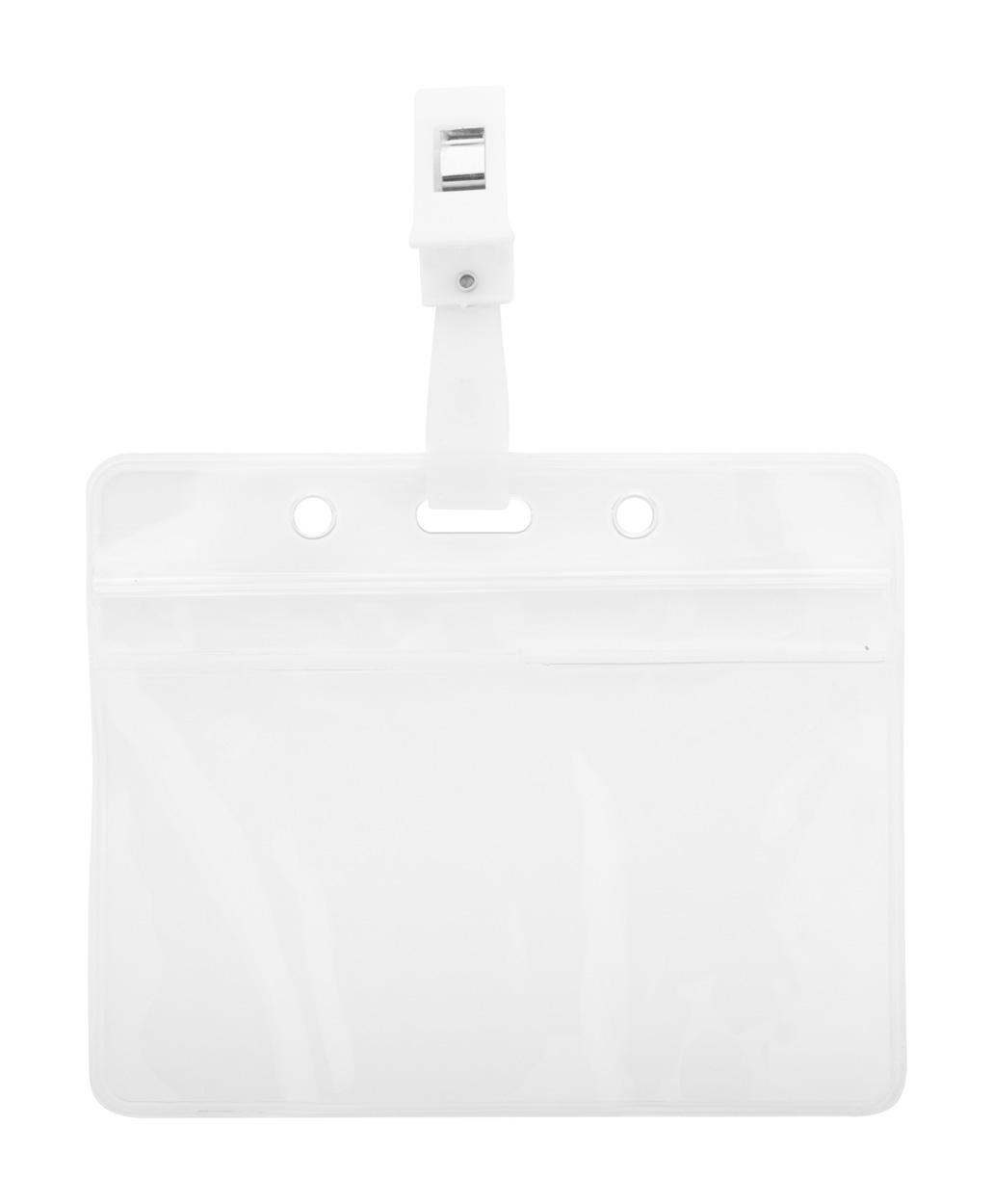 Solip badge holder, horizontal