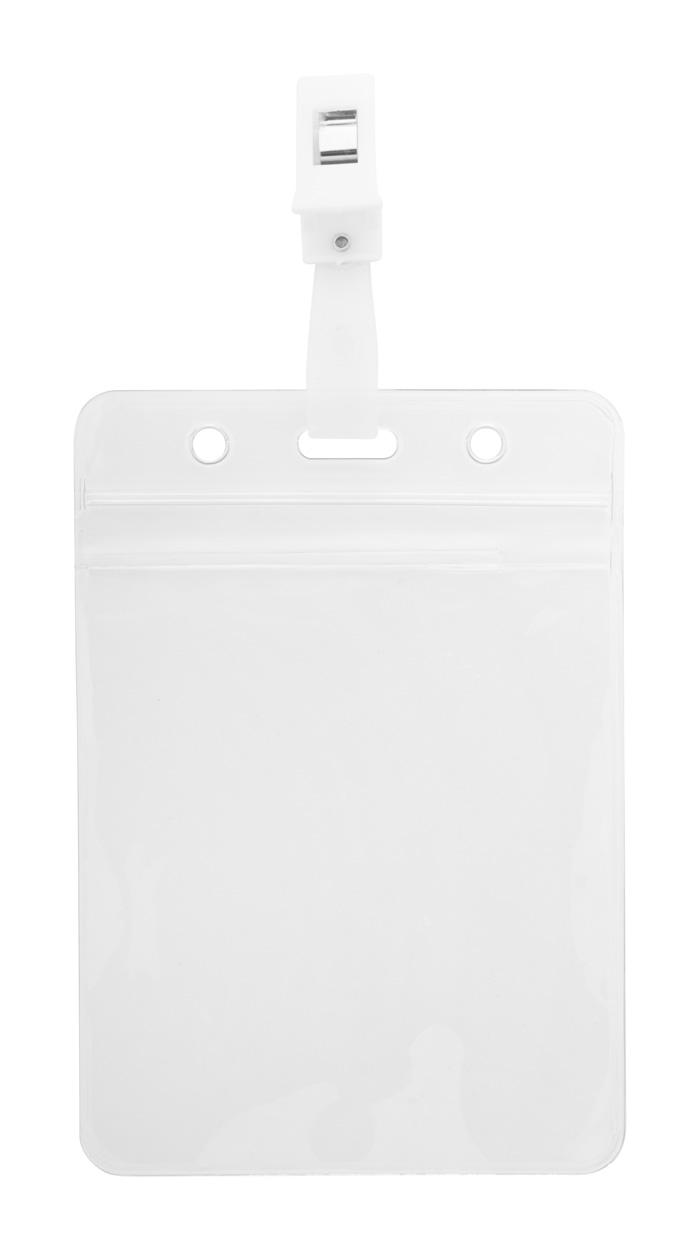 Solip badge holder, vertical