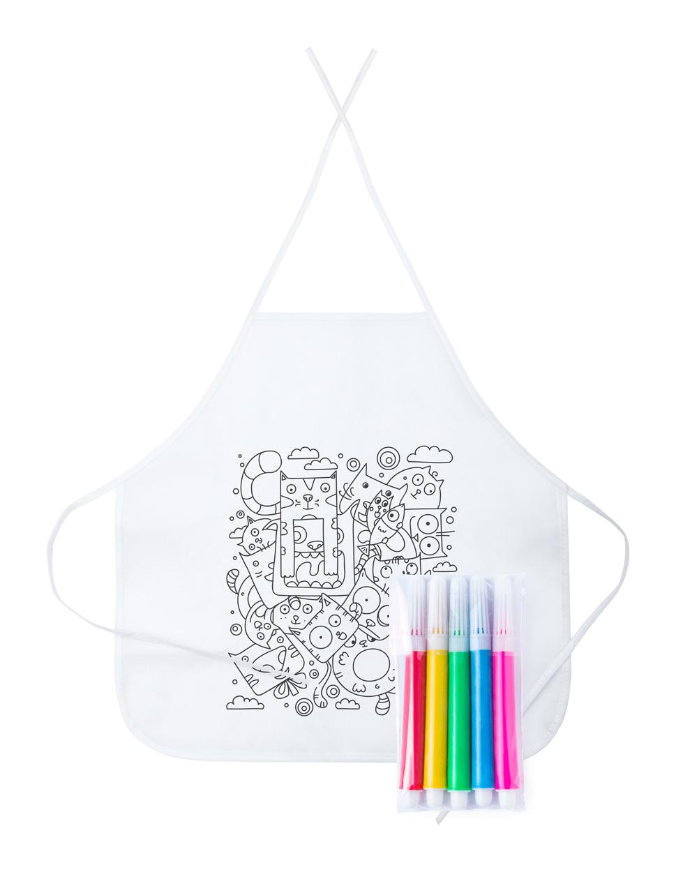 Tizy colouring apron