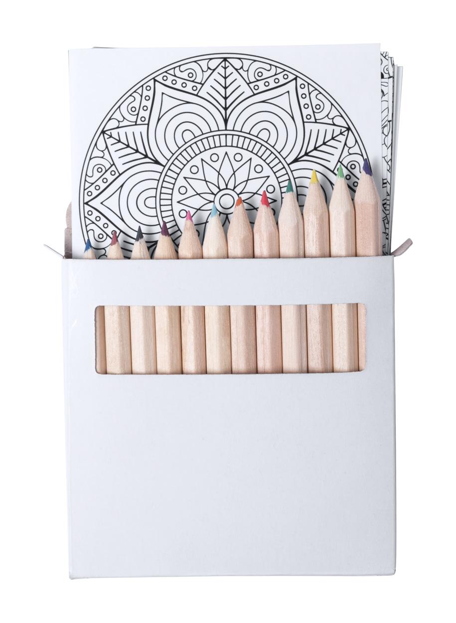 Boltex mandala colouring set