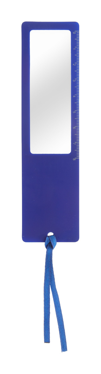 Okam ruler with magnifying glass