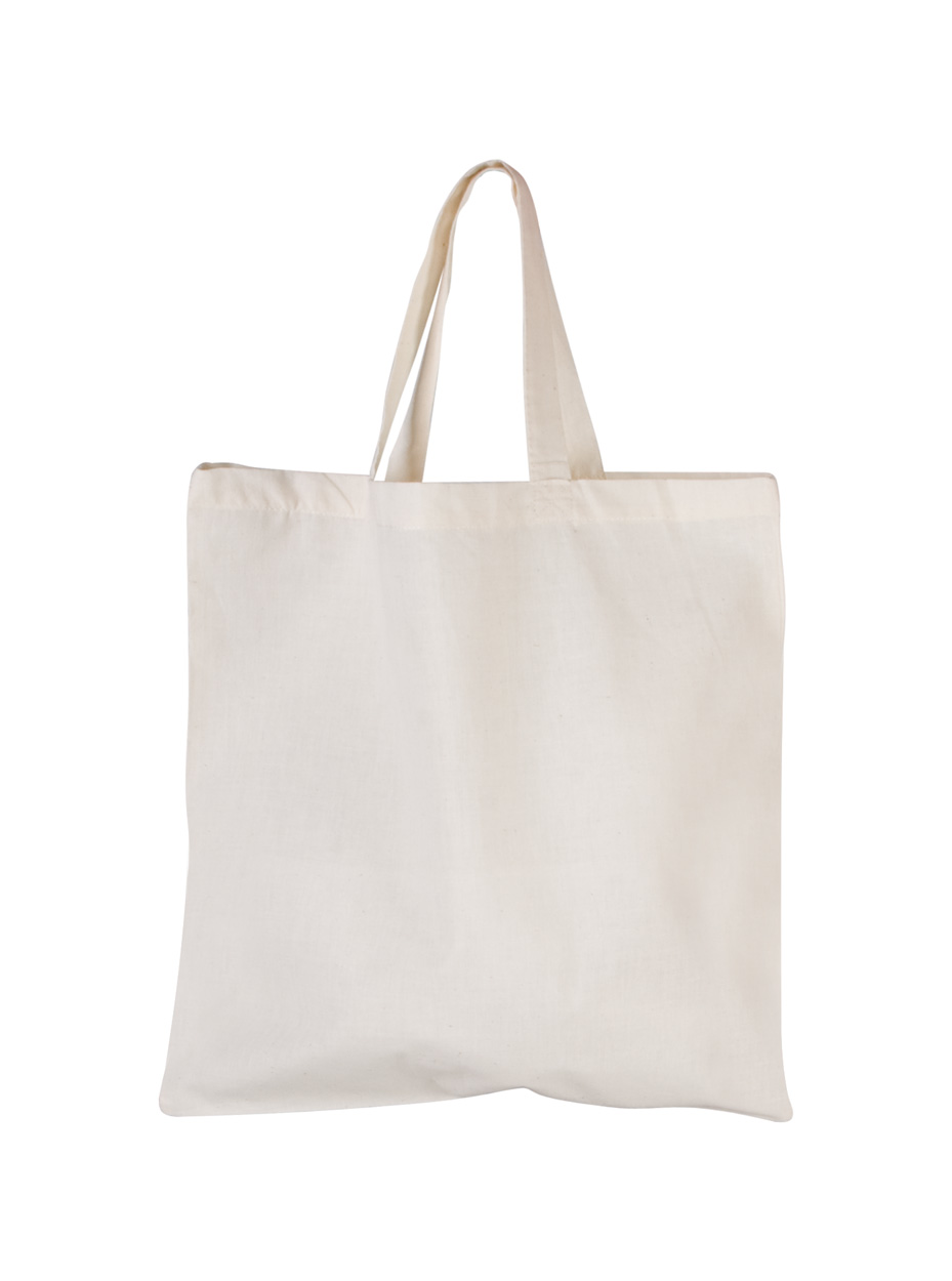 Shorty sac shopping en coton