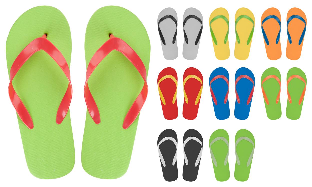 CreaSlip customisable beach slippers
