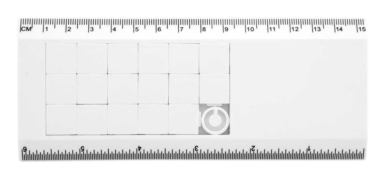 Slidy puzzle ruler